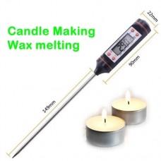 Candle Making Wax Melting Digital Thermometer Wax Melting LCD Display 300C 752F