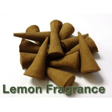Incense Cones - Lemon Fragrance - Pack of 20 - Ruqyah Recited Upon
