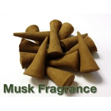 Incense Cones - Musk Fragrance - Pack of 20 - Ruqyah Recited Upon