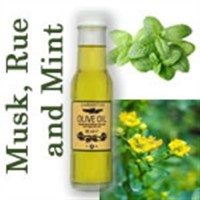Olive Oil with Rue Oil Peppermint Oil and Musk Fragrance.