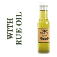 Olive Oil infused with Rue Oil